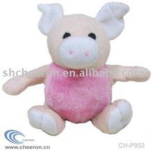 Tennis Ball Plush Pig Toy