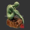bonito e quente mulheres nuas escultura