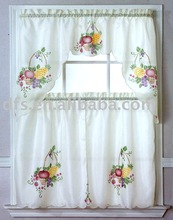 Polyester Kitchen Curtain