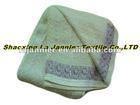 JD002- Ear Jacquard Cotton Blanket