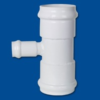 Reducing Tee (Gasket x Gasket x Gasket) for pvc pipe, China No.1 pipe fitting brand LESSO