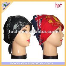 Football Printing Cotton Bandana with Custom Design