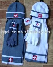 scarf,hat & glove sets