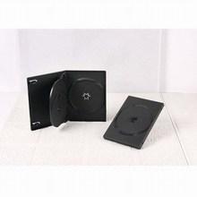 14mm multi black triple DVD case