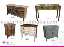 European style furniture wooden combination