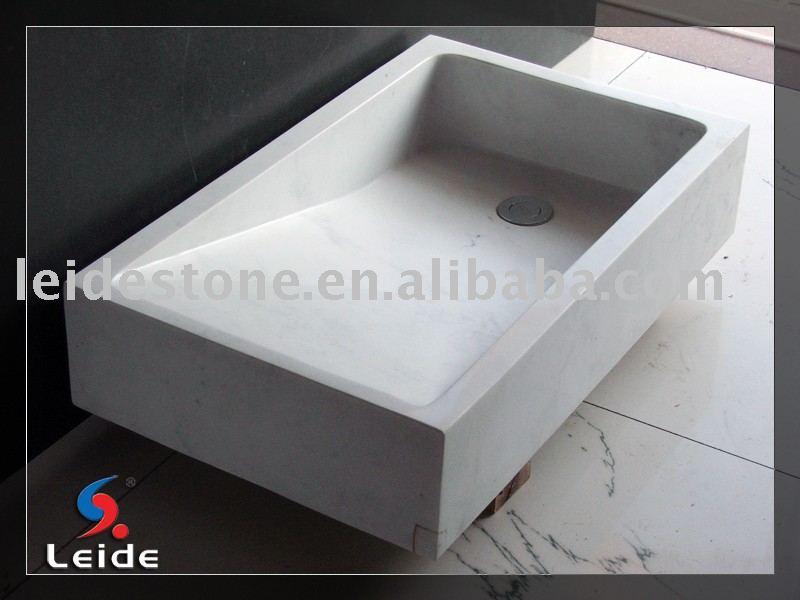 Ariston de m rmol blanco fregadero de la cocina fregadero - Fregadero de marmol ...