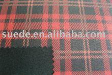 TC bronzing check suede fabric for sofa &cushion fabric&curtain fabric