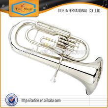 High grade euphonium, brass body, gold lacquer, Bb 3 piston valves