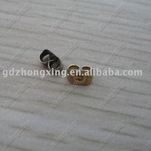 ear clutch, ear nuts, jewellery findings