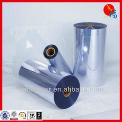 transparent plastic PVC film
