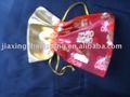 organza bolsa de regalo con cordón de cierre