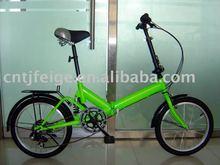 "16"" green steel Folding bicycle(FP-FB10)"