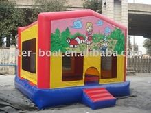 commercial inflatable bouncer with Velcro Art Panels