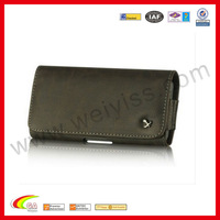 High Popular!Tough Brown Leather Phone Case Belt Clip Wallet Pouch for AT&T HTC ONE X Holster
