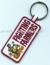Embroidered Patch Embroidery Patch Fashion Patch Key Chain Key fob