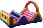 Inflatable toys,obstacle
