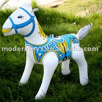 pvc inflatable horse