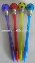 Flashing bulb pen