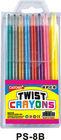 twistable crayon(stationery, color pencil)