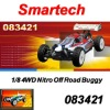 Smartech 1/8 4WD Nitro Off-Road Buggy RC Car 083421