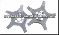 chromed plastic car wheel cover