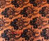 hand print pashmina cashmere shawl