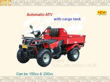 ATV with cargo tank
