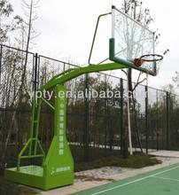 Box-type imitation hydraulic basketball stand