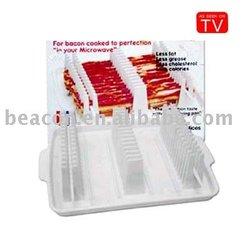 2013 New bacon wave,bacon tray,microwave bacon