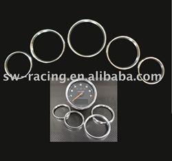 Car Aluminum Interior Dashboard Rings for PORSCHE