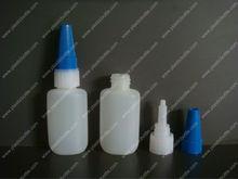 plastic HDPE cyanoacrylate adhesive super glue bottle JB-027