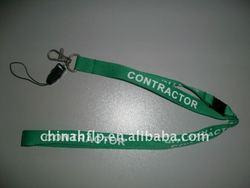 pen or key sock mobile phone holder lanyard