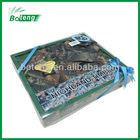 Babywear gift box incl Rompers + Baseball Cap + 2pcs of Bibs