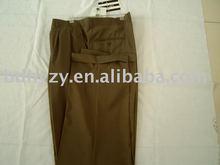 Wool viscose men's trousers