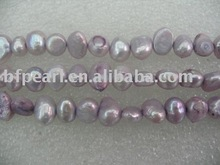 6-7mm purple nugget pearls