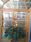 German style solid wood window