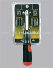 7-in-1 angle screwdriver /Screwdriver With Prevent Slippery long Handle screwdriver