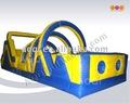 Aoqi 0.55mm productos de pvc precio competitivo gigante inflable obstáculo aq1411 curso