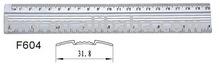 30cm aluminium Ruler for office