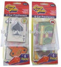 Promotional hanging Aroma paper air freshener