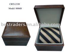 Tie w/ PU Gift Box
