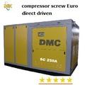30m3/min 200kw compresor de tornillo rotativo, 120 psi de aire de refrigeración de agua controlador plc inglés versión de rusia