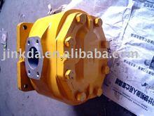 Wheel loader transmission pump