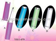 Stainless steel beauty tweezers in plastic case