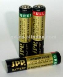 R03 carbon zinc battery dry battery 1.5V