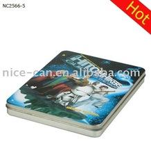 CD Tin Box, DVD/ CD case, metal box for DVD
