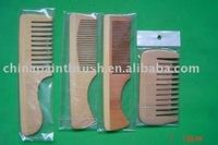 comb wood comb
