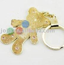 metal keychain teddy bear keychain keychain promotional
