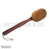 wooden bath brush