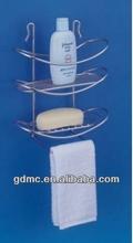 3 Tiers chrome plated bathroom shelf(shower caddy)